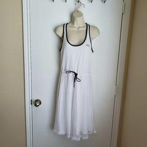 Hunter Mesh Dress in White Size XS